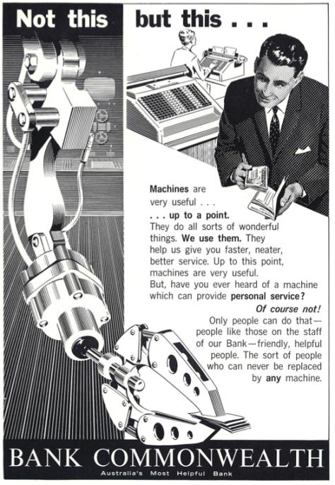 commonwealth bank ad - 1963